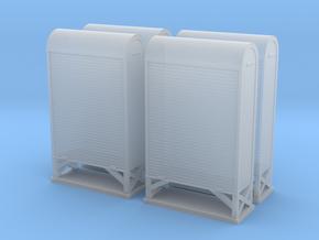 TJ-H04662x4 - Armoires à relais petit modèle in Smooth Fine Detail Plastic
