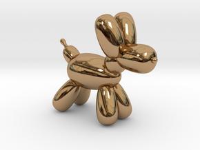 Koonie Balloon Dog in Polished Brass