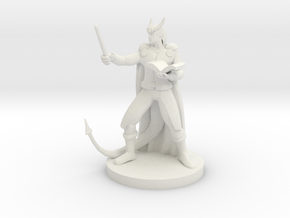Tiefling Wizard in White Strong & Flexible