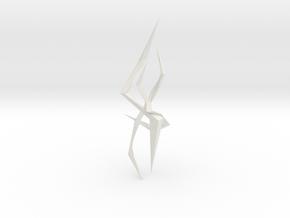 LightSaber Blade Lightning 001 in White Natural Versatile Plastic