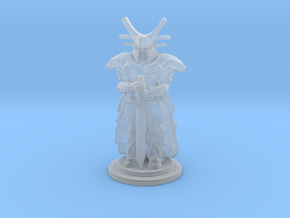 Undead Knight Mini 28mm in Smooth Fine Detail Plastic