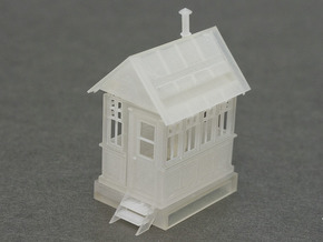 CPR John Street Gatehouse - HO Scale (1/87) in Frosted Ultra Detail