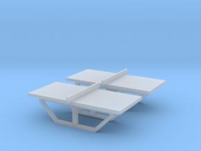 TJ-H01144x2 - Tables de Ping-Pong en beton in Smooth Fine Detail Plastic