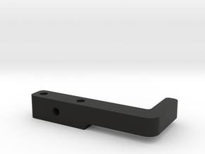 Xray T4 Tapeless Lipo Holder - Rear in Black Strong & Flexible