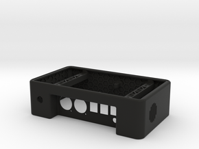 Raspberry Pi Network Player Box in Black Natural Versatile Plastic