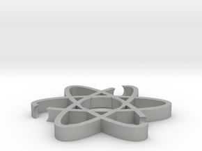 ATOM Fidget Spinner body in Raw Aluminum