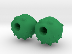 Blowfish Valve Caps - Presta Tires in Green Strong & Flexible Polished