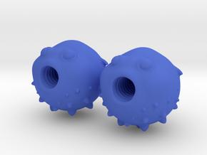 Blowfish Valve Caps - Presta Tires in Blue Processed Versatile Plastic