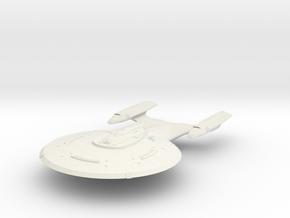 Lamar Class   BattleCruiser in White Natural Versatile Plastic