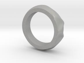 Dune ring in Aluminum