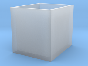 High Density FCS2 Coverslip Storage Box in Frosted Ultra Detail
