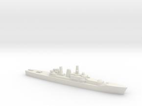 Leander-class frigate w/ Ikara, 1/2400 in White Natural Versatile Plastic