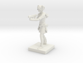Printle C Femme 486 - 1/43 in White Strong & Flexible