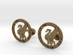 Liverbird the icon of Liverpool in Natural Bronze