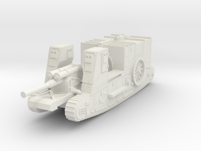 1/144 Gun Carrier Mk.I in White Strong & Flexible