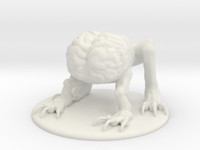 Intellect Devourer Miniature in White Natural Versatile Plastic: 1:55