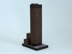 Seagram Building (6x4) in Full Color Sandstone