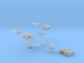 ENTAC Missile System: Jeep Mount in Smooth Fine Detail Plastic: 1:72