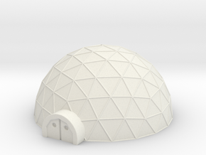 Large Geo Dome in White Strong & Flexible