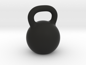 Kettlebell For You Little in Black Natural Versatile Plastic