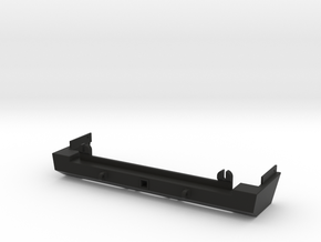 1:10 Scale Jeep Cherokee (XJ) Short Rear Bumper in Black Strong & Flexible