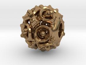 PA Charm V1f D15SE86L0 in Natural Brass