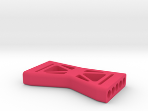 Gen2 Rear Shock Brace in Pink Processed Versatile Plastic