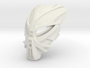 Mask of Growth - Bomonga in White Natural Versatile Plastic