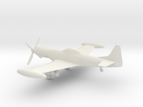 Piper PA-48 Enforcer / Cavalier X-22 Mustang 3 in White Natural Versatile Plastic: 1:72
