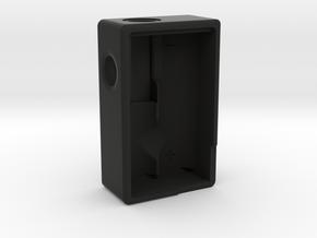 Mini Squonker Body (v1) in Black Natural Versatile Plastic