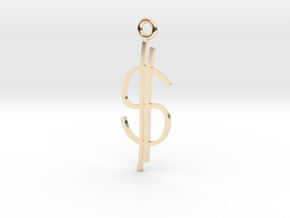 Money Charm! in 14K Yellow Gold