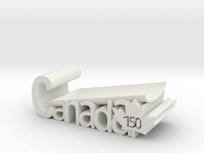 Canada 150 Spoon Rest Version 2 in White Natural Versatile Plastic