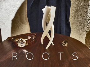 Roots vase in White Strong & Flexible