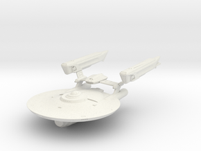Ranger Class Refit  Cruiser in White Strong & Flexible