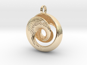 Mobius IV in 14K Yellow Gold