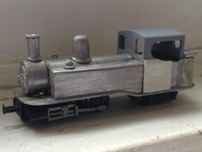 Single Fairlie cab conversion for Taliesin 009 in Frosted Ultra Detail