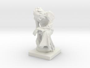 Printle C Homme 575 - 1/64 in White Natural Versatile Plastic