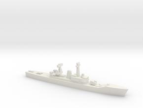 Van Speijk-class frigate (1963), 1/1800 in White Natural Versatile Plastic