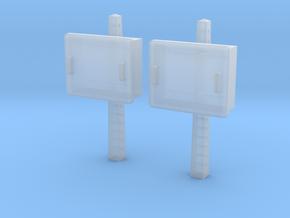 TJ-H04678x2 - Boitiers STM sur poteaux béton in Smooth Fine Detail Plastic