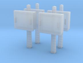 TJ-H04678x4 - Boitiers STM sur poteaux béton in Smooth Fine Detail Plastic