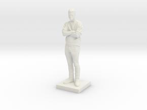 Printle C Homme 592 - 1/64 in White Natural Versatile Plastic