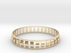 Special 1 Bracelet XL in 14k Gold Plated Brass