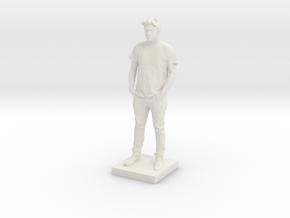 Printle C Homme 594 - 1/64 in White Natural Versatile Plastic