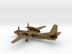 Antonov An-32 Cline in Natural Bronze: 1:285 - 6mm