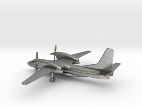 Antonov An-32P Firefighting in Natural Silver: 1:285 - 6mm