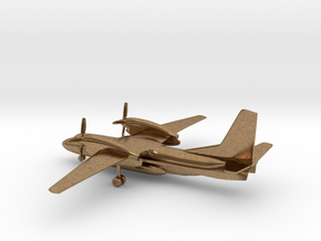 Antonov An-32P Firefighting in Natural Brass: 1:285 - 6mm