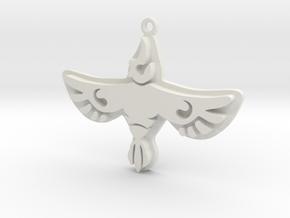 Zelda Divine Beasts Vah Medoh pendant botw in White Natural Versatile Plastic