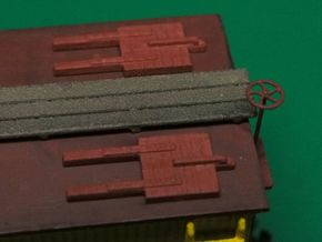 HO scale Reefer Hatches (closed) x8 in Frosted Ultra Detail