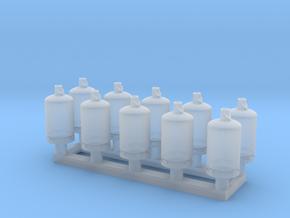 TJ-H02001x10 - Bouteilles de gaz 13kg in Smooth Fine Detail Plastic