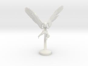 EAGLE PREY 25 cm /10 inch in White Natural Versatile Plastic